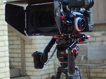 Sony FS7 4K camera package with Odyssey 7Q+ RAW recording