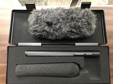 Rent: Sennheiser MKH 416 Shotgun Mic + Zoom H5 Rec. Field Kit