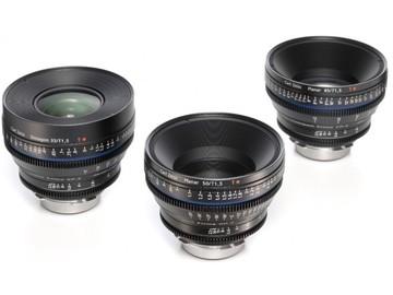 Rent: Zeiss Compact Prime CP.2 Super Speed PL Mount (4) Lens Set
