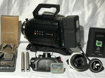 Rent: Blackmagic URSA Mini 4.6K bundle