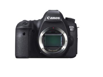 Rent: Canon EOS 6D DSLR Camera 20.2MP Full-Frame