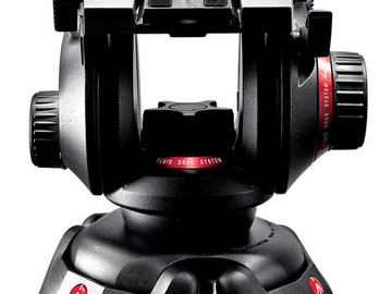 Rent: Manfrotto 504HD Video Fluid Head & 535 3Section Carbon Fiber