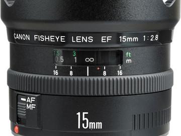 Rent: Canon EF 15mm f/2.8 Fisheye Lens