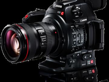 Rent: Canon C300 Mark II Kit