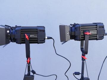 Rent: 2 x Came-TV Boltzen 100W LED Fresnel Kit 5600