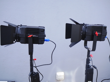 Rent: 2 x Came-TV Boltzen 100W Bi-Color LED Fresnel (fan-less)