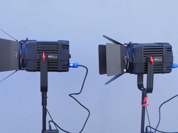 Rent: 2 x Came-TV Boltzen 150W LED Fresnel Kit 5600K