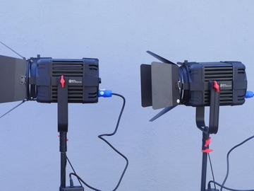 Rent: 2 x Came-TV Boltzen 150W LED Fresnel Kit 5600K