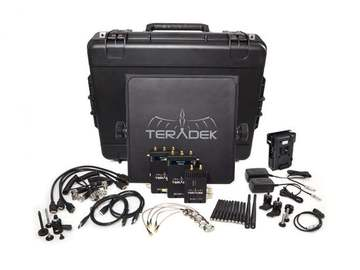 Teradek Bolt 1000 (1Tx/2Rx) With Monitors+Cages+Batteries