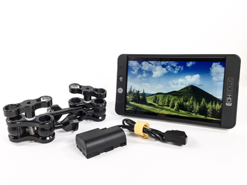 "Rent: SmallHD 702 - 7"" Hi-Brite Monitor"