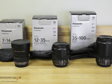Rent: Panasonic Lumix M43 Lens Set
