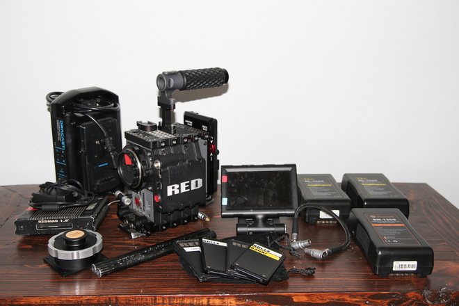 Red Scarlet X Basic Camera Package