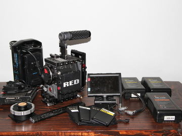 Rent: Red Scarlet X Basic Camera Package