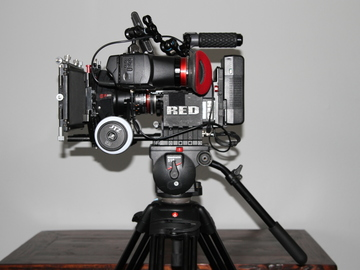 Rent: RED Scarlet X Deluxe Package with Rokinon Cine Lens Set