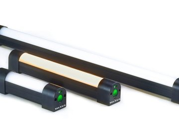 Rent: 2 Quasar Science Q20 2 foot Lithium Ion Battery LED Lamps