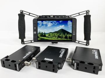 Rent: SmallHD 702 | Paralinx ACE 1:2 | WC Monitor Cage