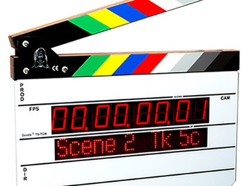 Rent: Timecode Systems Denecke Intelligent Clapper Slate