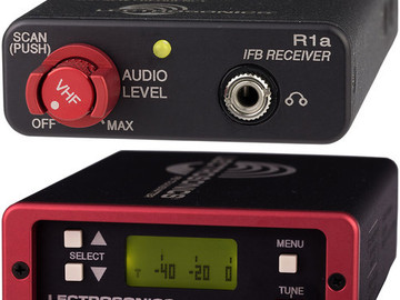 Rent: Lectrosonics IFBT4-VHF IFB Transmitter (174.100Mhz)