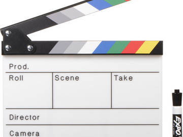 Rent: Alan Gordon Color Combo Scene Slate with Pouch and Marker
