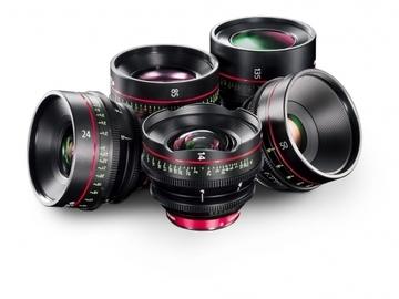 Rent: Canon CN-E Cinema Prime Lenses (Set of 4)