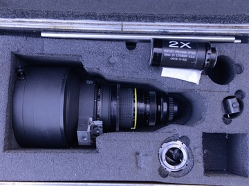 Nikkor 300mm T2.0 PL Mount Lens w/ accessories