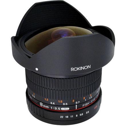 Rokinon 8mm f/3.5 Fisheye Cine Lens (Nikon Mount)
