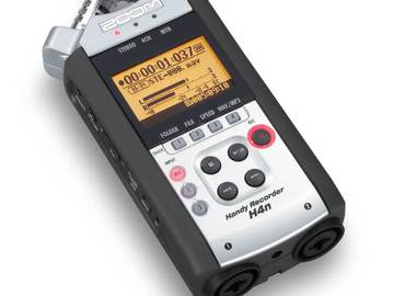 Rent: Tascam H4n Portable Recorder