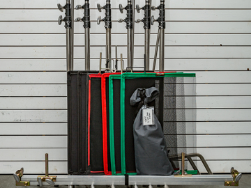 Rent: grip package with flags and frame