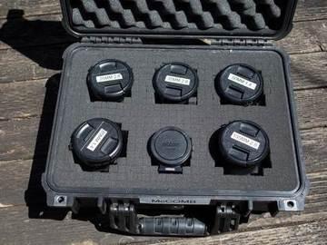 Rent: Contax-Zeiss Cine-mod prime 5-lens set