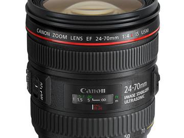 Rent: Canon EF 24-70mm F/4L IS USM Lens