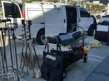 Rent: 1-1/2 Ton Grip Van With Driver/Grip
