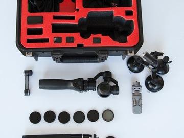 Rent: DJI Osmo complete kit
