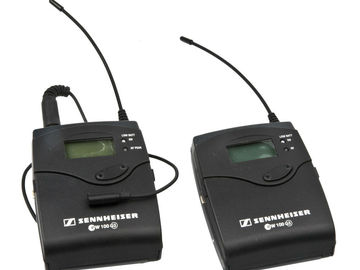 Rent: Sennheiser EK100 G3 Pack Transmitter / Receiver