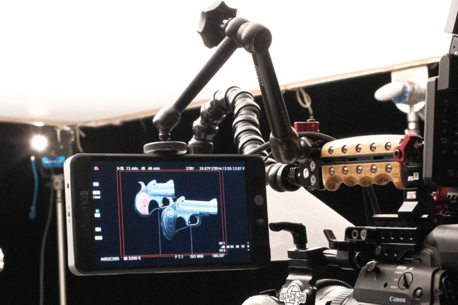 SmallHD 702 Bright HD 7-in Field Monitor Kit