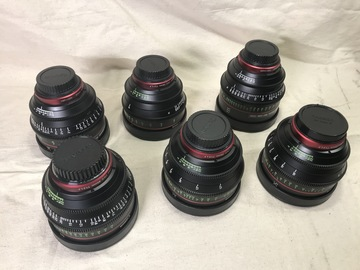 Rent: Canon CN-E Cinema Prime Lens Set