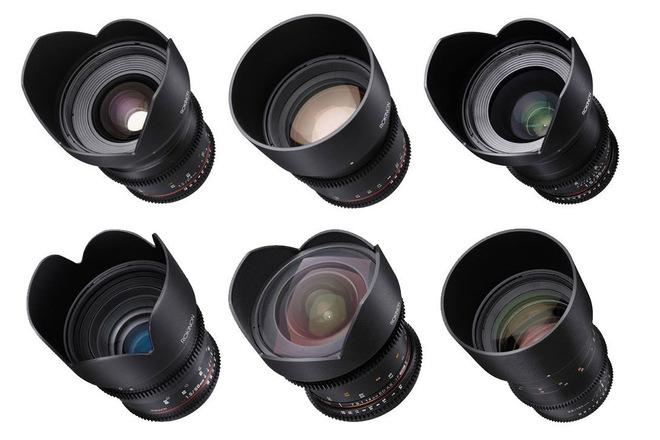 Rokinon Cine DS Set (6 Lenses) Canon EF Mount