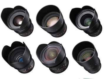Rokinon Cine DS Set (6 Lenses) Canon EF Mount