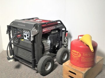 Rent: Honda 7000 Studio Generator