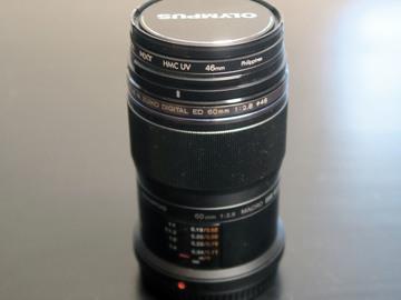 Olympus 60mm f2.8 macro lens for GH4/GH5