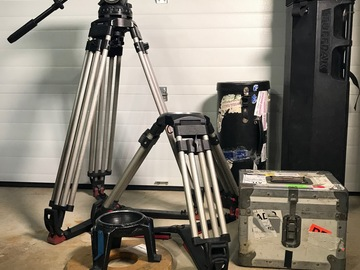 Rent: Sachtler 150mm Fluid Head, Sticks Package