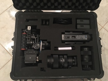 Rent: (READY TO SHOOT) Blackmagic URSA Mini 4.6K Full Kit