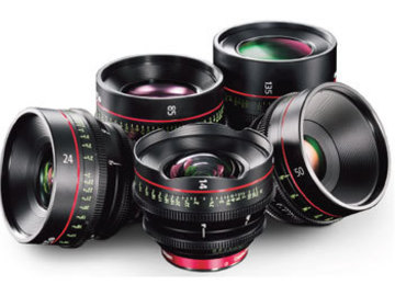 Rent: Canon CN-E Prime Lens Set of 6
