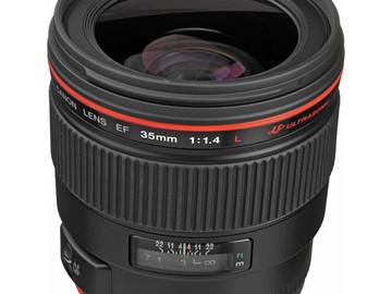Rent: Canon 35mm f/1.4 L