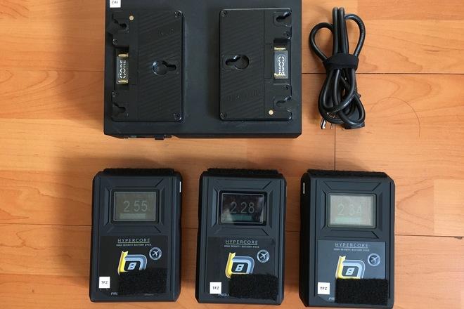 (3) Core SWX HC8 85wh Gold Mount Batteries Kit