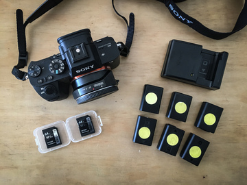 Sony a7S II + Metabones + 1 Canon choice of lens 4K PACKAGE
