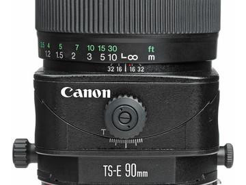 Rent: Canon 90mm TS-E f/2.8