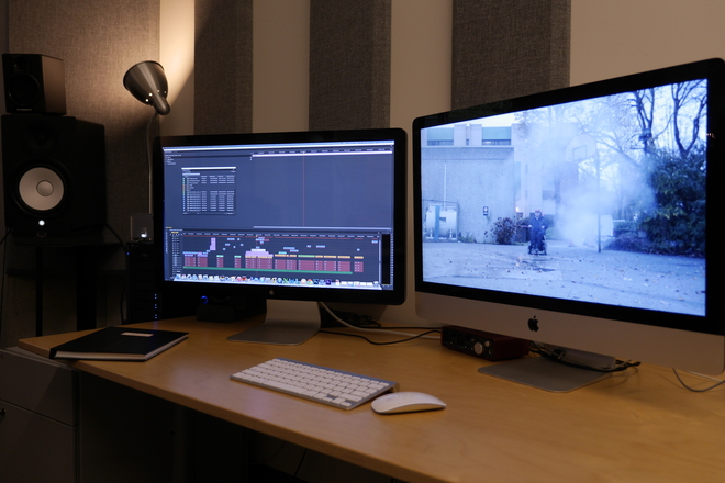 Avid Media Composer and  Final Cut Pro Editing Suites