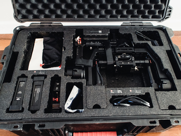 Rent: DJI Ronin 3-Axis Gimbal Stabilizer Package