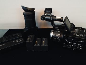 Rent: Sony NEX-FS100U Camcorder