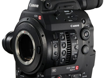 Rent: Canon C300 MkII EF Mount